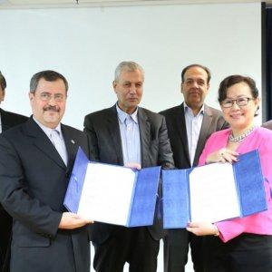 ICCIMA's Jalalpour, Singapore Officials Discuss Areas of Cooperation