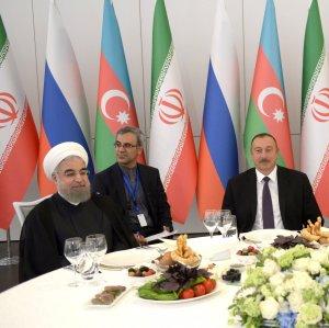 Azerbaijan Courting Iran, Russia on INSTC
