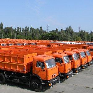 Russian Trucks on the Way