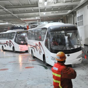 Two Bus Production Lines Stop Rolling