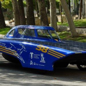 Iranian Solar Car Heading for Kish FTZ