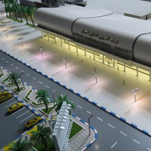 Pictured above is a proposed design of the new airport. An international firm will be commissioned with the project to build the airport.