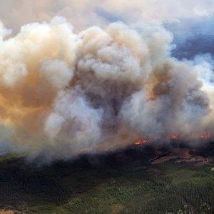 Canada Wildfire Ash in Switzerland