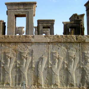 Construction Around Persepolis Banned