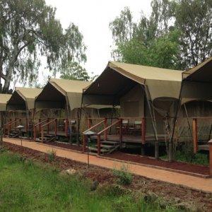 Qeshm Co. Building Large Eco-Camps