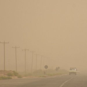 Hamoun Wetlands Flooded to Stop Dust, Sandstorms