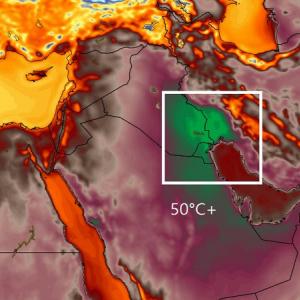 Khuzestanis Locked Indoors by Blistering Heat