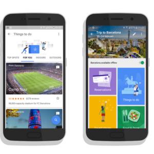 Google Testing Travel App