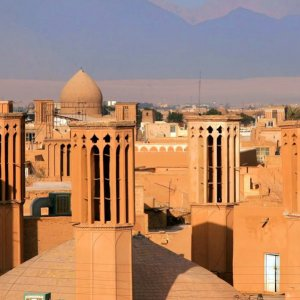 Yazd is believed to be the oldest adobe city in existence.