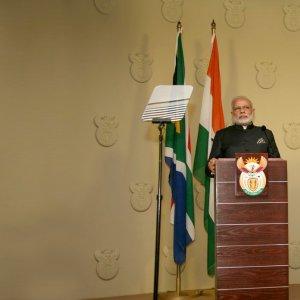 Modi Embarks on Development Diplomacy  in Africa