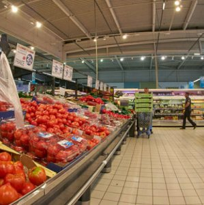 Europe Grocery Sales Increase