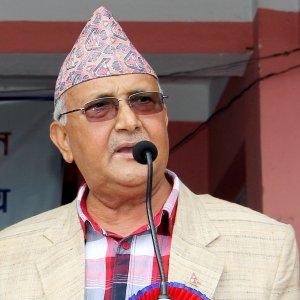Nepal PM  Pledges Prosperity