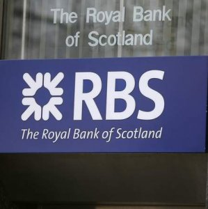 RBS to Impose Negative Rates  on Some Clients