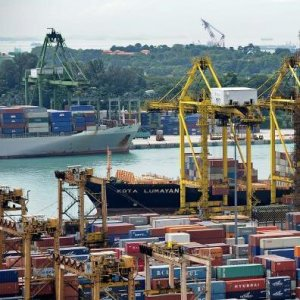 The weakness in exports has spilled over beyond the goods sector into services.