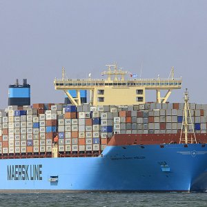 Maersk Profits Sink 90%
