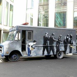 Warhol's Mao, Banksy's SWAT Van at Bonhams