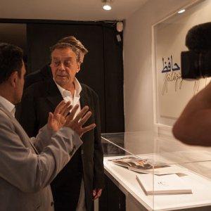 Uecker's Art Show in Tehran