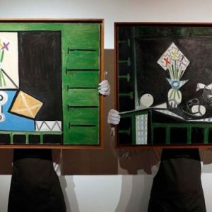Picasso's Same-Day 1946 Works for Sale in London