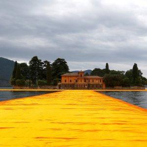 'Walk on Water' at Christo work