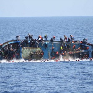 Dozens Feared Drowned as Migrant Boat Sinks Off Libya