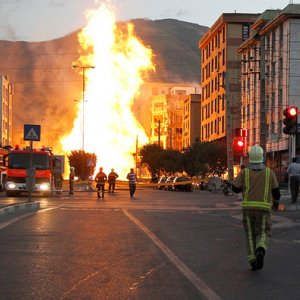 Huge Tehran Fire Under Control