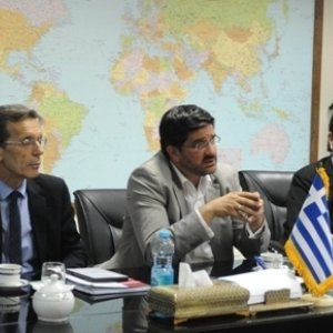 Greece as European Hub for Iran Exports