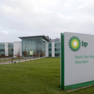 BP Profits Sink 45%