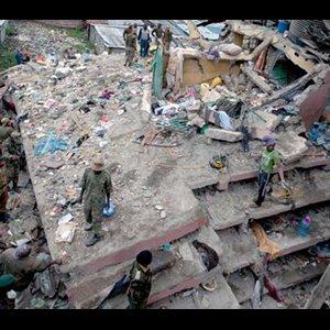Search Underway for Nairobi Building Collapse Survivors