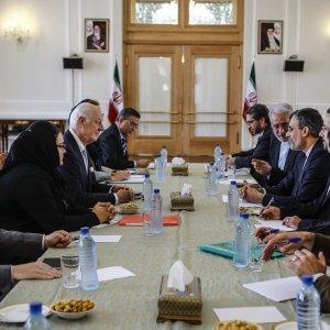 UN Envoy Briefs Iran on Syrian Developments