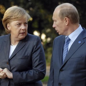 "Merkel Accuses Russia of  ""Creating Problems"" in E. Europe"