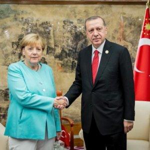 Merkel, Erdogan Hold Constructive Talks