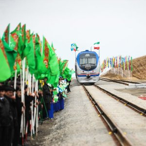 On December 2015, Iran, Turkmenistan and Kazakhstan inaugurated a 926-kilometer railroad, which is 80km in Iran, 700km in Turkmenistan and more than 120km in Kazakhstan.