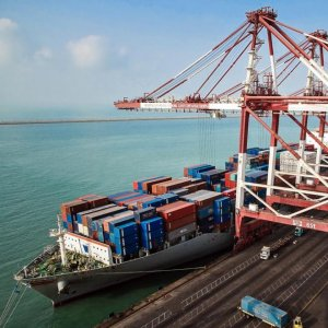 Shahid Rajaei on the Persian Gulf is responsible for more than 80% of Iran's total container trade.