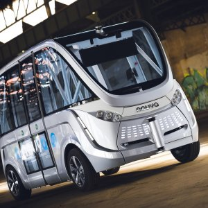 Driverless Minibuses  in France