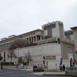 Caixa Geral de Depositos headquarters in Lisbon.