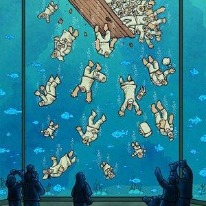 The winning work by Alireza Pakdel