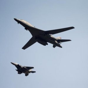 US Bombers Fly Over South Korea Again
