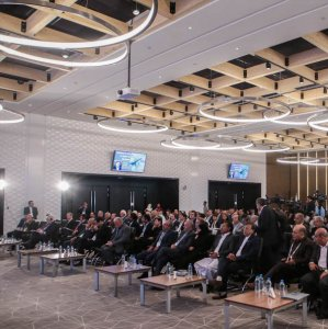 The CAPA Iran Aviation Finance Summit opened at Tehran's Imam Khomeini International Airport on Sept. 18.