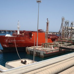 1st Libyan Oil Cargo in 2 Years
