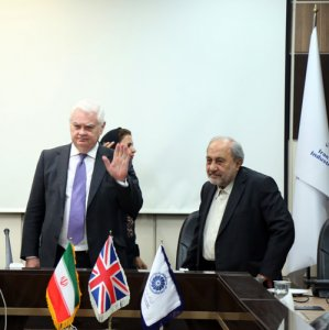 Lord Norman Lamont ,the chairman of the British Iranian Chamber of Commerce met Gholamhossein Shafei, the head of ICCIMA on Saturday.