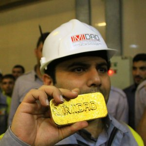 Rise in Mouteh Gold Output