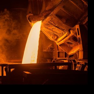Iran has 250 steel factories with production capacities ranging from 30,000 to 6 million tons.