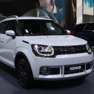 The Suzuki Ignis was launched at the 2016 Paris Motor Show.