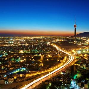 A view of Tehran