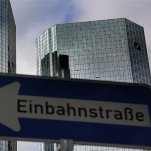 Deutsche Bank's true condition has become apparent to the  financial markets' monitors.