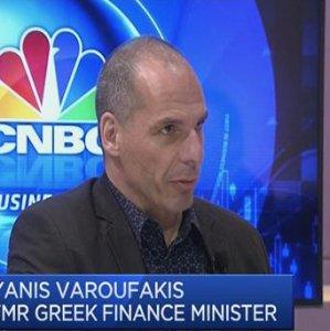 Former finance minister Yanis Varoufakis