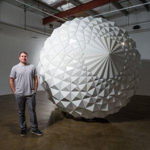 Sahand Hesamian and his artwork