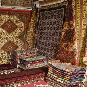Iran's carpet exports were hard hit as a result of the sanctions.