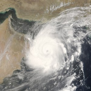 Tropical Storm En Route to Southern Iranian Shores