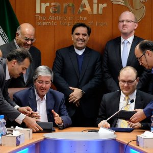 Iran Air Deal with Boeing